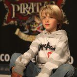 Áxel Fernández, el más joven de 'Piratas'