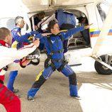 Miki Nadal, a punto de subirse al avión