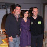 Arturo Valls, Malena Alterio y Antonio Molero