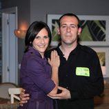 Malena Alterio y Antonio Molero