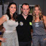 Carmen Ruiz, Antonio Molero y Patricia Montero
