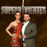 Raquel Sánchez Silva junto a Jorge Javier Vázquez
