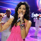 Lucía Pérez en Eurovisión 2011