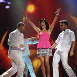 Ensayos de España en Eurovisión 2011