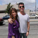 Paula Abdul y Simon Cowell en 'The X Factor'