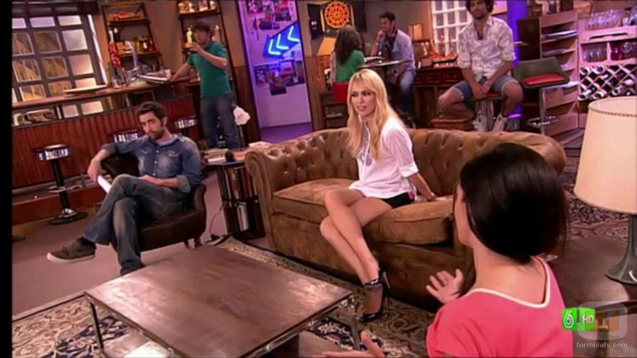 El sofá del nuevo plató de 'Sé lo que hicisteis...'