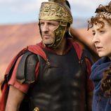 Marco y Claudia en la segunda temporada de 'Hispania'