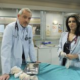 Jordi Rebellón y Alicia Borrachero en 'Hospital Central'