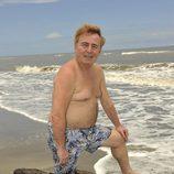Tony Genil posa sin camiseta en 'Supervivientes 2011'