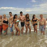 Los famosos de 'Supervivientes 2011' posan en bañador
