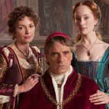 Joanne Whalley, Jeremy Irons y Lotte Verbeek