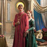 Rodrigo Borgia y Julia Farnese de 'Los Borgia'