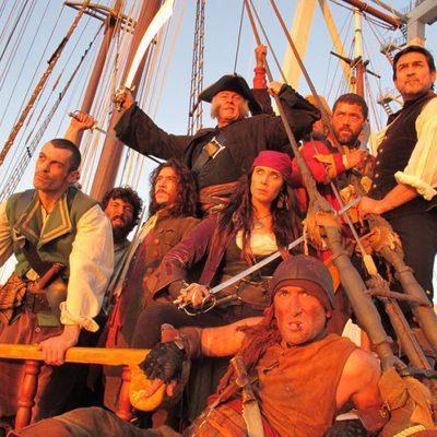 Making of de 'Piratas: El tesoro perdido de Yáñez El Sanguinario'