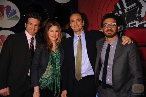 El elenco de 'Free Agents' en los Upfronts de NBC