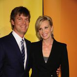 Peter Krause y Monica Potter de 'Parenthood'