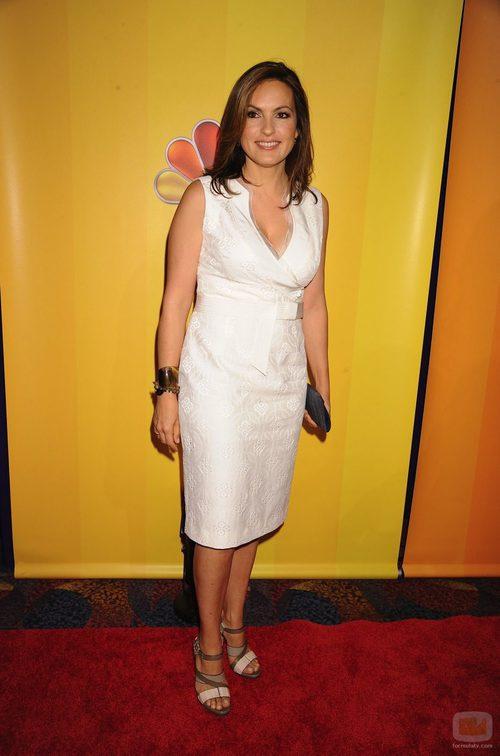 Mariska Hargitay en los Upfronts 2011