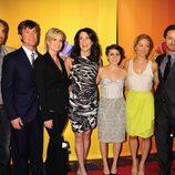 El elenco de 'Parenthood' en los Upfronts 2011 de NBC