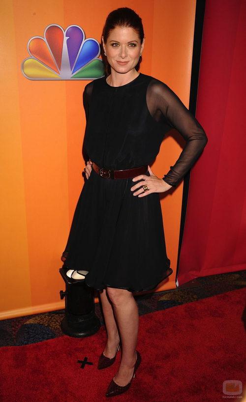 Debra Messing presenta 'Smash' en los Upfronts 2011