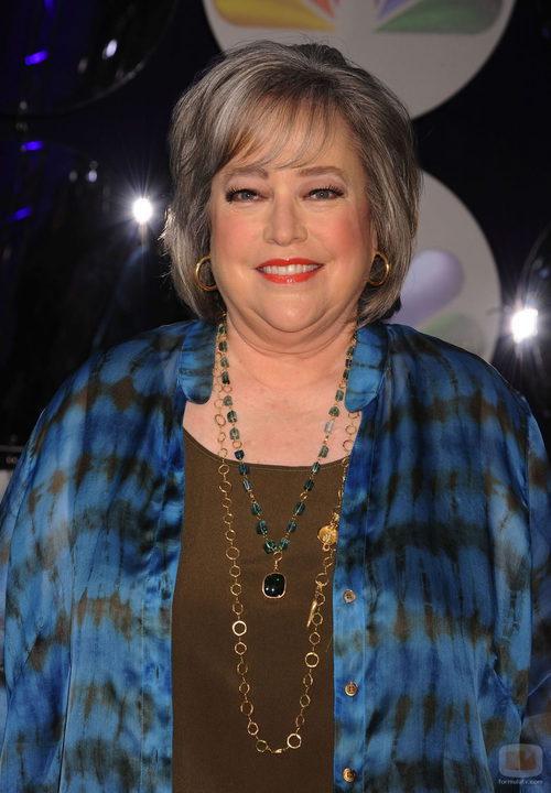 Kathy Bates en los Upfronts 2011