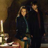 Lucía y Raúl en las bodegas Reverte