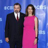 Tom Selleck y Bridget Moynahan en los Upfronts 2011 de CBS