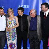 Elenco de 'Blue Bloods' en los Upfronts 2011 de CBS