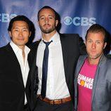 Daniel Dae Kim, Alex O'Loughlin y Scott Caan de 'Hawaii Five-0'