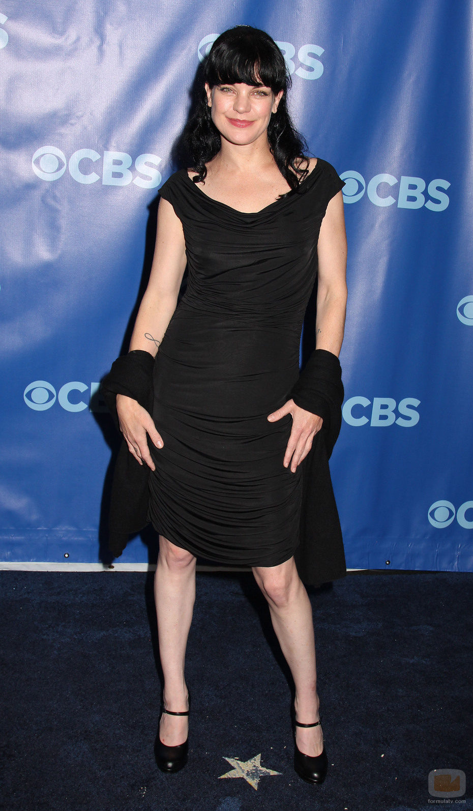 Pauley Perrette de 'NCIS' en los Upfronts 2011 de CBS