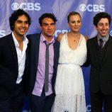 Elenco de 'The Big Bang Theory' en los Upfronts 2011 de CBS