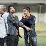 Maxi Iglesias bromea con José Manuel Seda