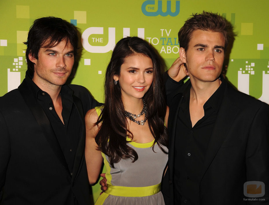 Los protagonistas de 'The Vampire Diaries'
