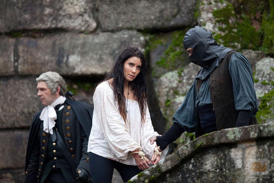 Carmen Bocanegra, capturada en 'Piratas'
