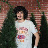 Antonio Pagudo detrás de un arbusto en 'La que se avecina'