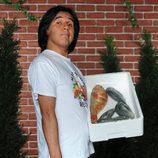 Parrales (Carlos Alcaide) con pescado de