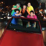 Los chicos de 'La que se avecina' montan en un coche