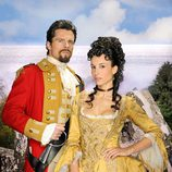 Octavi Pujades y Xenia Tostado en 'Piratas'