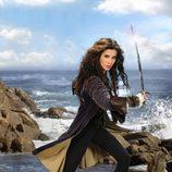 Carmen Bocanegra (Pilar Rubio), preparada para la acción en 'Piratas'