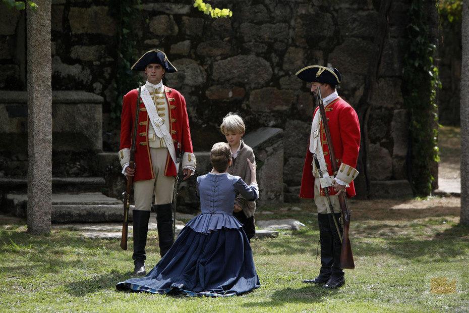 Blanca se reencuentra con Antón en 'Piratas'