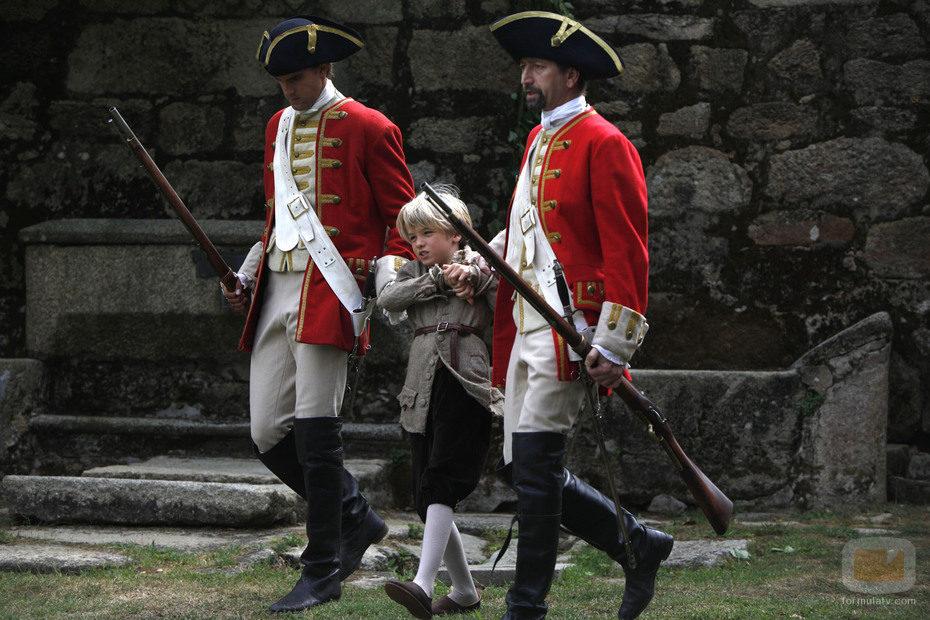 Antón, capturado por los guardias