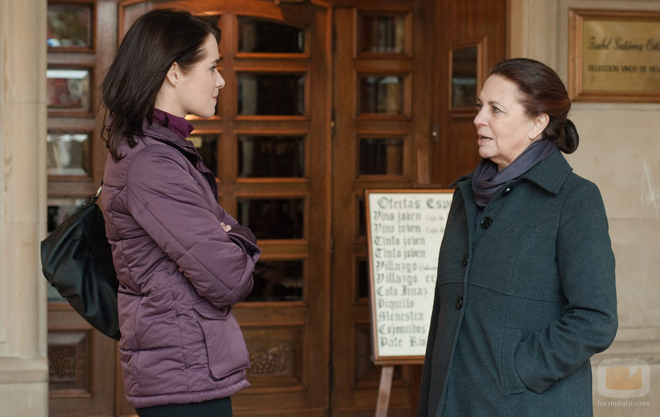 Sara habla con Rosalía en 'Gran reserva'