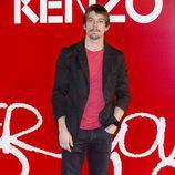 Adrián Lastra en la fiesta de Kenzo