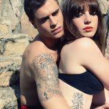 Adrián Rodríguez, de 'FoQ', y la modelo Inés Vidal
