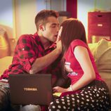 Román y Teresa se besan en 'Física o Química'