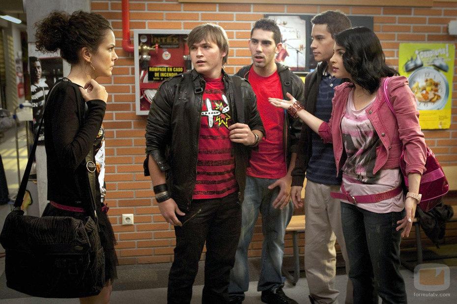 Los alumnos del Zurbarán hablan con Alma