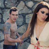 Adrián Rodríguez ('FoQ') y Leyre Lomas