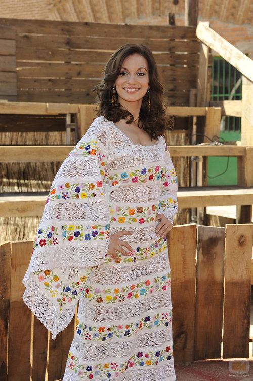 Norma Ruiz posa en la presentación de 'Marieta', TV Movie sobre Rocío Dúrcal
