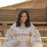Norma Ruiz caracterizada como Rocío Dúrcal en 'Marieta'