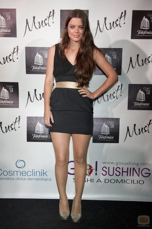Adriana Torrebejano en los premios Must! 2011