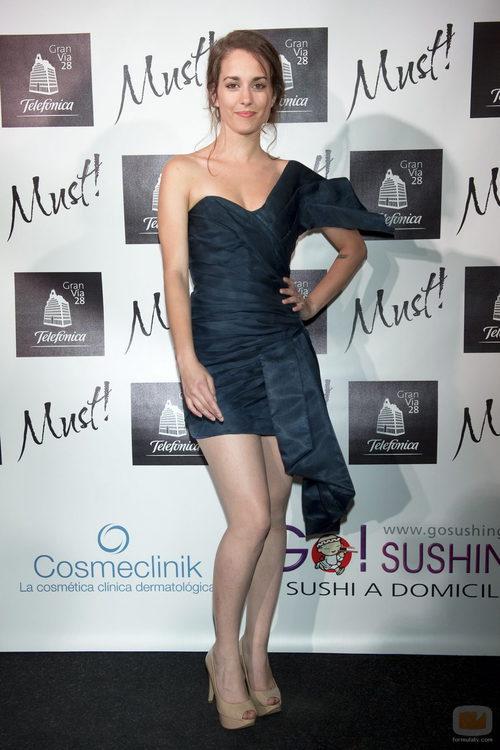 La actriz Silvia Alonso en los premios Must! 2011