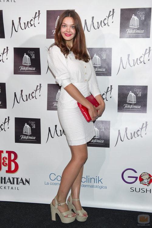 Ana Rujas, de 'Hispania', en los premios Must! 2011